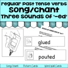 "Regular Verbs end in ""ed"" Song/Chant"
