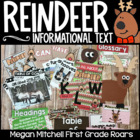 Reindeer: A Non-fiction Informational Text Mini Unit