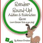 Reindeer Addition & Subtraction Game