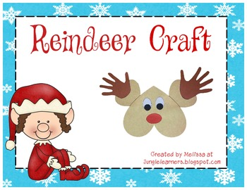 http://www.teacherspayteachers.com/Product/Reindeer-Craft-594703