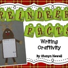 Reindeer Facts Writing Craftivity - Christmas Writing and