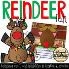 Reindeer Fun {Craftivity in English and Spanish}