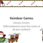 Reindeer Games: Literacy Centers