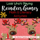 Reindeer Games MEGA Math and Literacy Unit