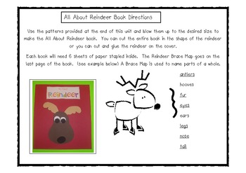 Reindeer Math and Literacy Fun