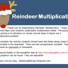 Reindeer Multiplication