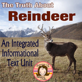Reindeer Nonfiction Informational Text Reading Unit