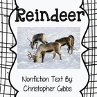 Reindeer Nonfiction Text and Tree Map Activity