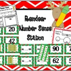 Reindeer Number Sense Station