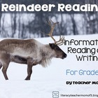 Reindeer Reading! Informative Reading and Writing {Bonus N