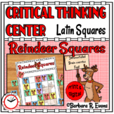 Reindeer Squares -- Critical Thinking