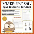 &quot;Release Your Owl&quot; Mini Research Project - Real World Lear