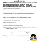 Reliability of Sources Worksheet