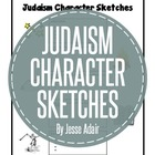 Religion: Judaism Character Sketches Graphic Organizer