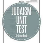 Religion: Judaism Unit Test