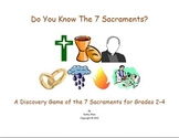 Religion: Seven Sacrament Symbol Game
