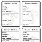Religion Trading Cards: Hinduism