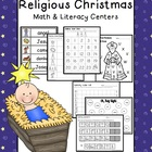 Religious Christmas Math &amp; Literacy Packet