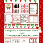 Religious Christmas Pack and Classroom Decorations