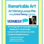 Remarkable Art Vermeer, Art History Critical Thinking and