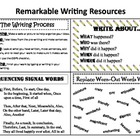 Remarkable Writing Resources