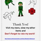 Remembrance/Veteran's Day Clip Art