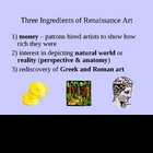 Renaissance Art - Major Renaissance Figures PowerPoint