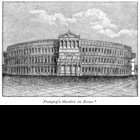 Reonstruction of the Theater of Pompey