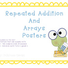 Repeated Addition and Arrays Posters