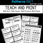 Repeating and Growing Pattern Sort