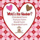 Representing Numbers in Standard, Picture, Word, and Expan