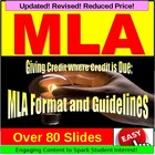 Research Paper : MLA Format PowerPoint