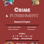 Research Project:  Real-Life Crime and Punishment (not Dos