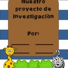 Research Projects in Kindergarten! Easy Peasy! SPANISH EDITION