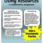 Research a State - Using Resources - Packet