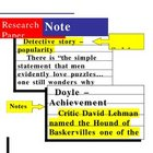 Research paper note card examples