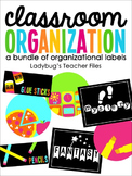 Resolution: Get Organized! (a bundle of organization)