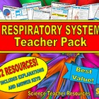 Respiratory System Teacher Pack!