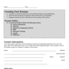 Resume Design Packet