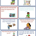 Retelling/ Summarizing Reading Comprehension Flashcards