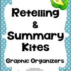 Retelling &amp; Summarizing Graphic Organizers Common Core Ali