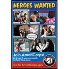 Retired Americorps Heros Wanted Poster