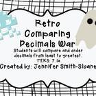 Retro Ordering Decimals War