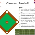 Review Game: Classroom Baseball