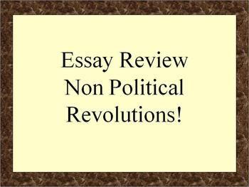 Review: Non-Political Revolutions in Global History (NYS)
