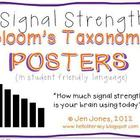 Revised Bloom&#039;s Taxonomy Posters for Higher Level Thinking