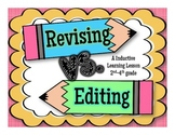 Revising vs. Editing - Inductive Learning Lesson