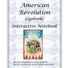 Revolutionary War Interactive Notebook / Lapbook
