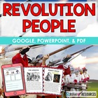 Revolutionary War People Slides, Activities, Test