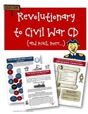 Revolutionary War to Civil War Units Activities Lessons Wo